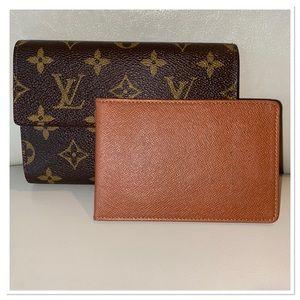 💕Free Gifted💕 Louis Vuitton Etui Papiers bifold